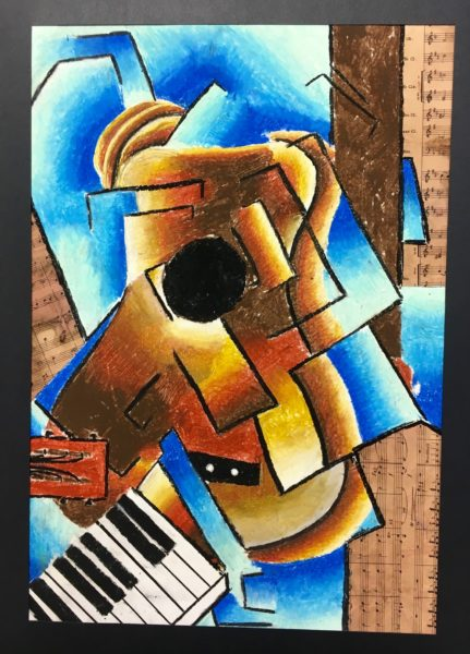 Cubism music instrument lesson plan Cubism music instrument lesson plan
