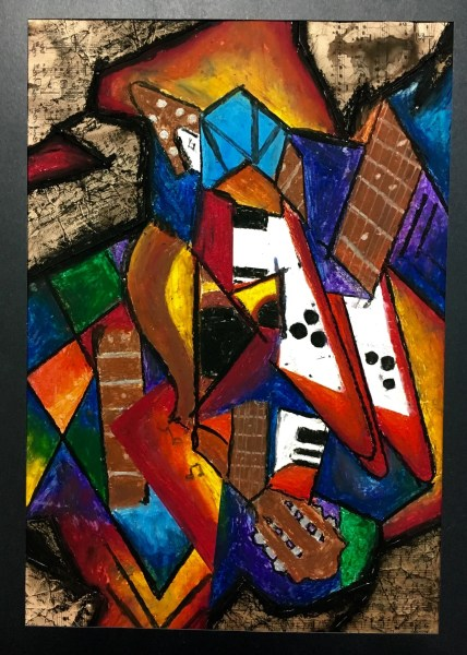 Cubism music instrument lesson plan
