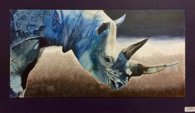Dynamic Composition Wild Animal Acrylic Painting Lesson