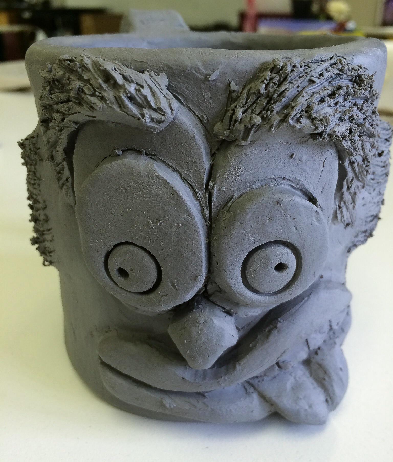 Funny Face Mugs Slab Construction Mug