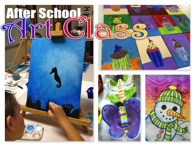 After School Art - Art Club Projects 2014-2015