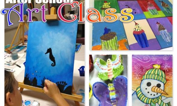 After School Art class lesson ideas