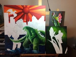 Michelle East Paintings