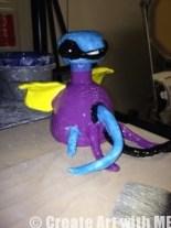 Roll-A-Beast Ceramic Creature