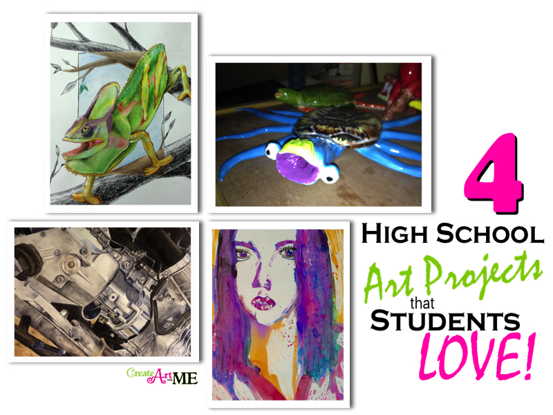 High School Art Projects That Students Love Create Art