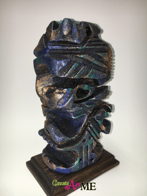 Styrofoam Sculpture Subtractive Non-objective