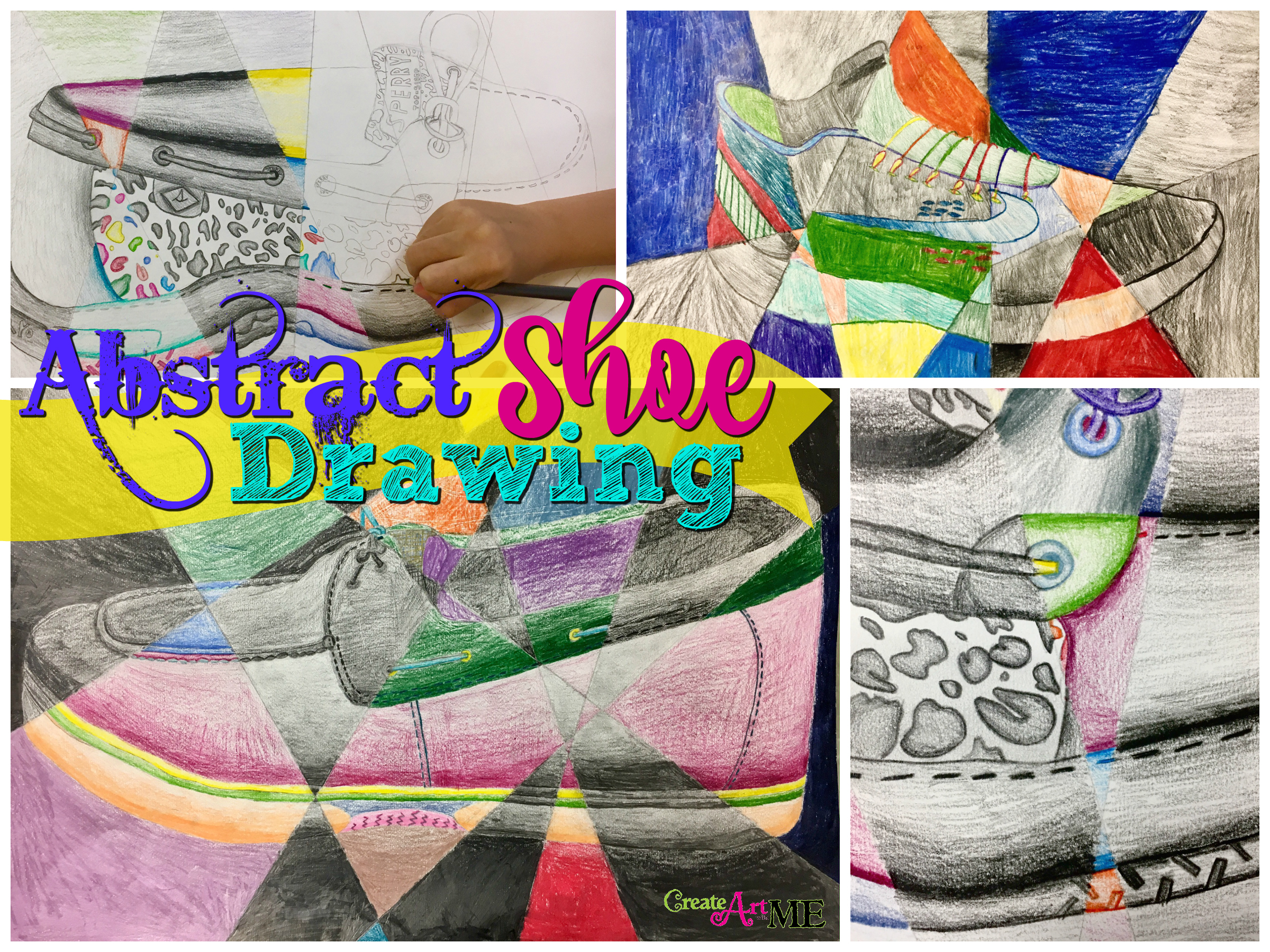 medium resolution of Abstract Shoe Value Drawing - Create Art with ME
