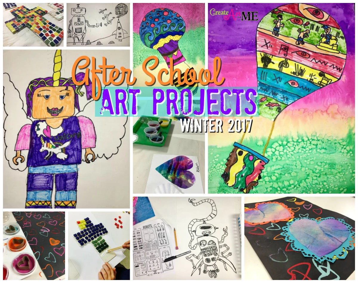 After School Art Projects Winter Spring 2017