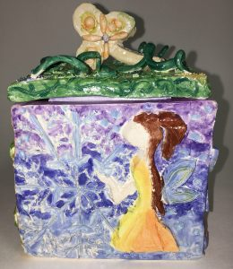 Ceramic Slab Themed Boxes
