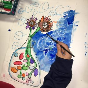 Van Gogh Sunflower Marker Bleeding