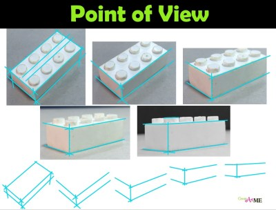 Lego Point of View- Angles of lines