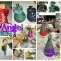 Ceramic Slab Angel Ornaments Clay Lesson