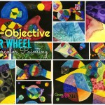 Non Objective Color Wheel Watercolor Lesson Create Art With Me