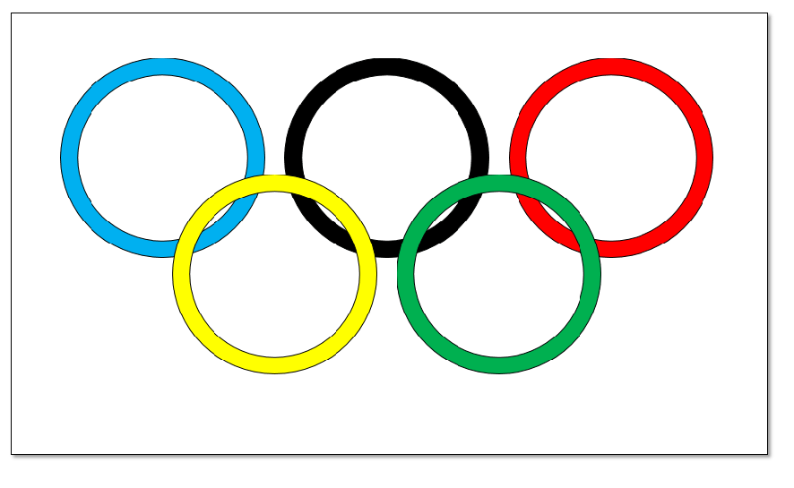 Olympic Rings Abstract Art Project Create Art With Me