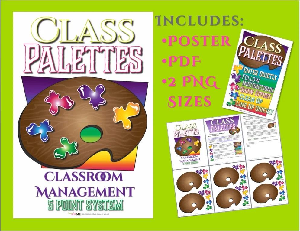 Palette Art Classroom Management Point System