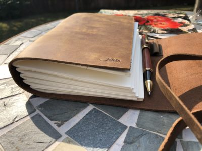 Jofelo Sketchbook Journal Handmade leather
