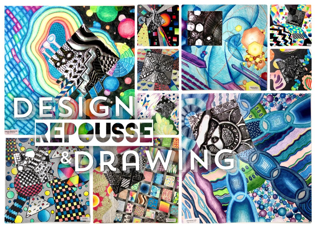Design Principles Metal Repousse and Drawing
