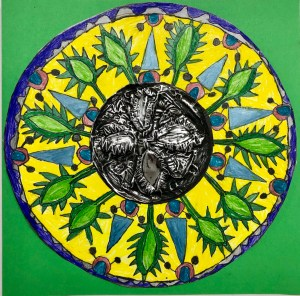 Talavera Repousse Metal and Drawing Project