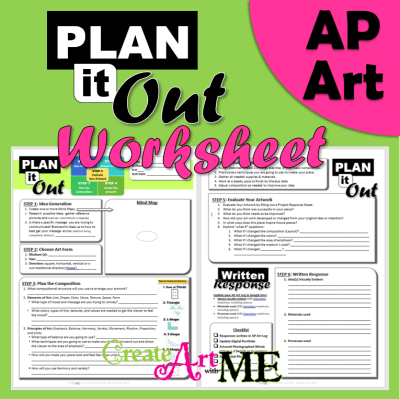 AP ART Plan it Out Worksheet