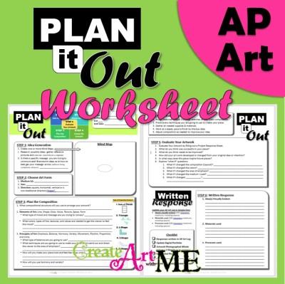 AP ART Plan it Out Worksheet