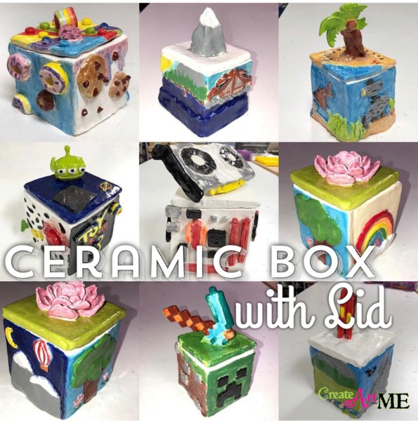 Ceramic Box with Lid Lesson