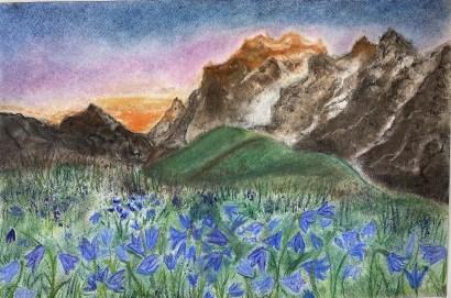Pastel Landscape Lesson