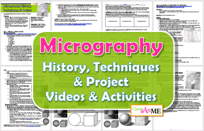 Micrography lesson plan