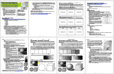 Micrography Techniques Lesson Plan & Worksheet