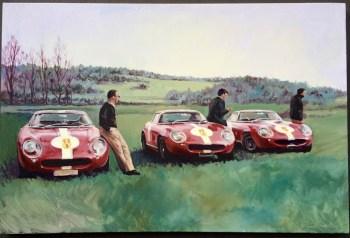 ferrari-acylic-painting