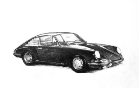 Sketch1, pen on paper