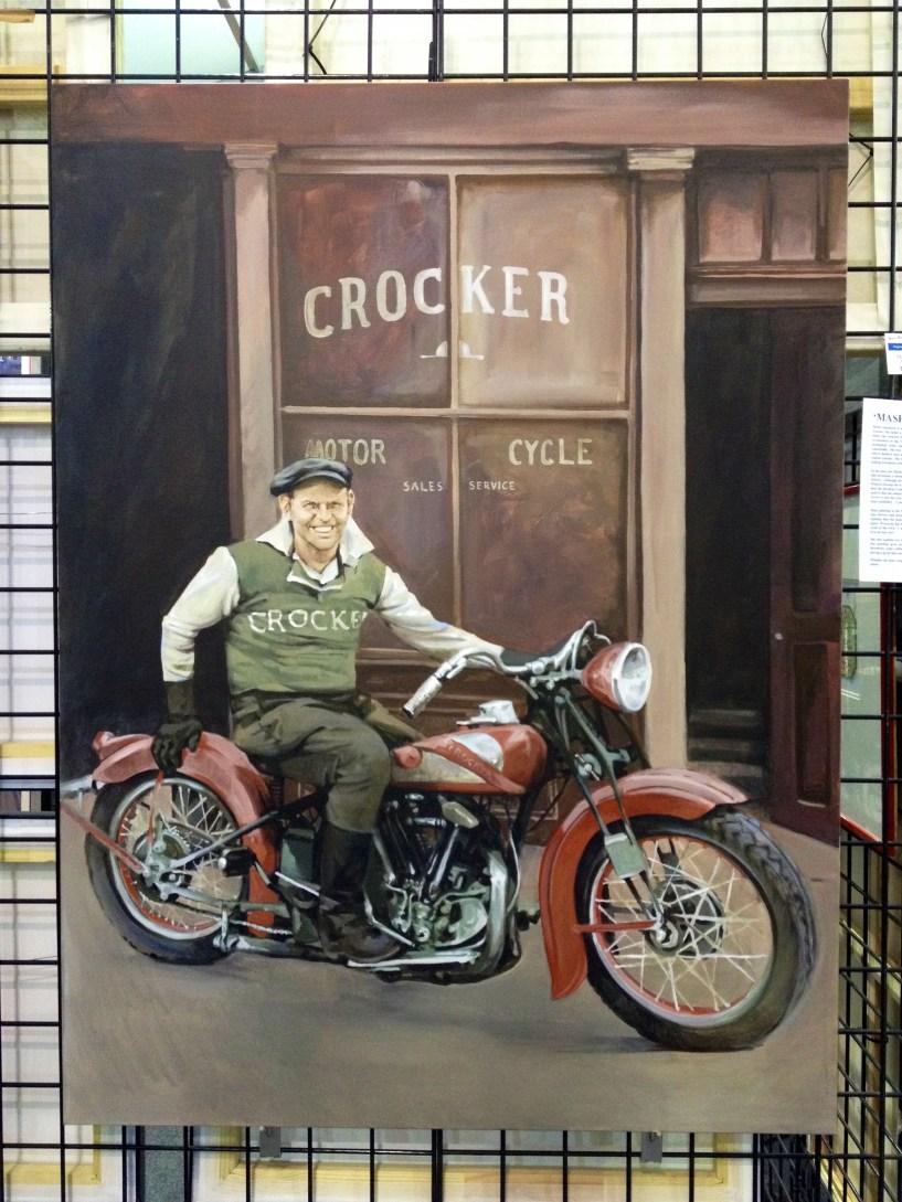 Crocker - original painting acrylic on canvas