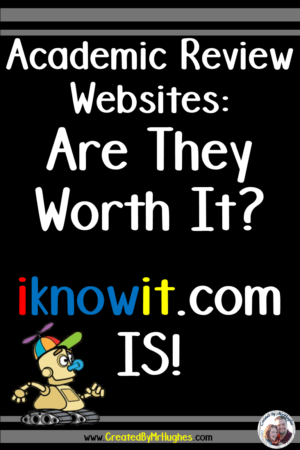 iknowit.com- Check out the review site designed with teachers in mind!