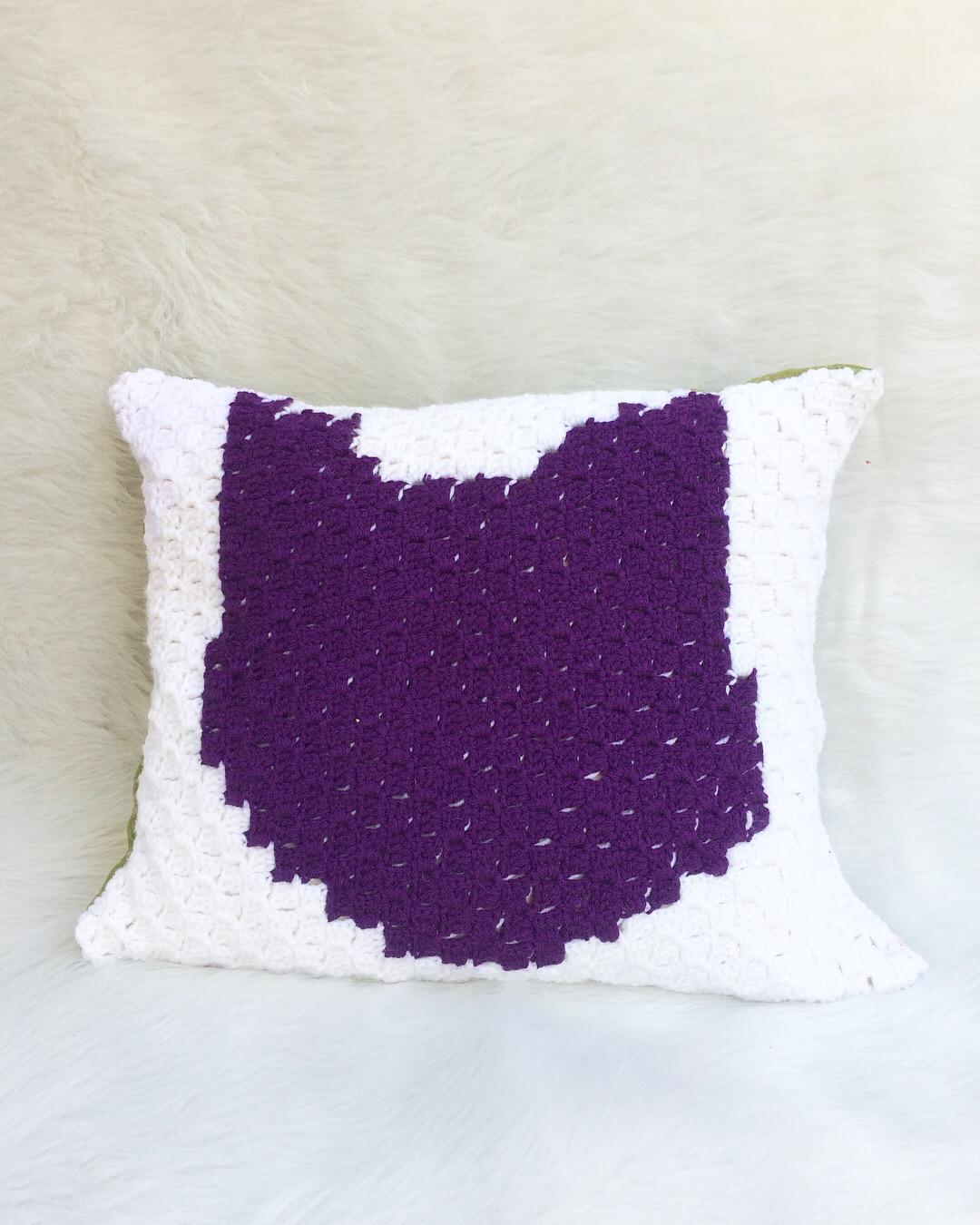 Pet Pillow Free Crochet Patterns | 1350x1080