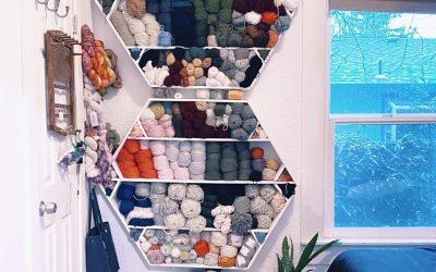 Decluttering my Dreams (and my yarn shelf)