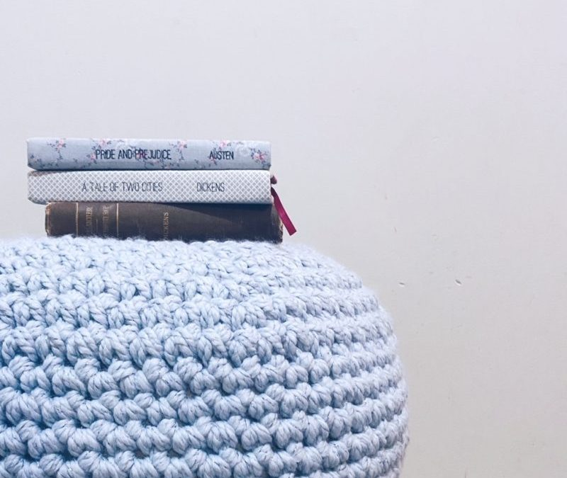Quick and Easy Two Hour Floor Pouf Free Crochet Pattern!