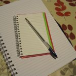 reviewing poetry - notebook