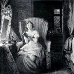gothic novel - Catherine reading