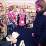 Tracy Chevalier book signing