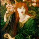 La Ghirlandata by Rossetti