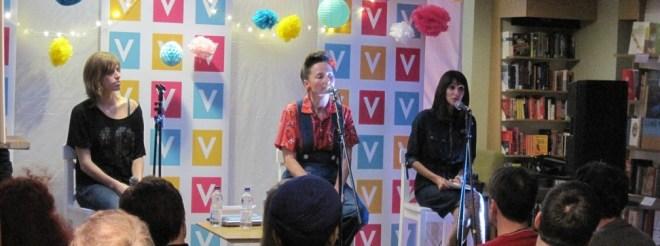 Kim Moore, Katrina Naomi and Mona Arshi