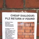 Cheap Dialogue poster