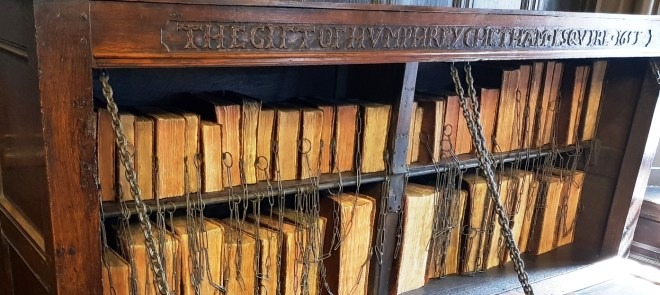 Chetham's Library - chained books