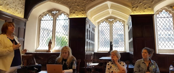 suspense writing workshop at Chetham's Library