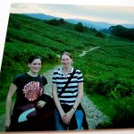 Myself (right) with a fellow Trust volunteer on the path near Rydal