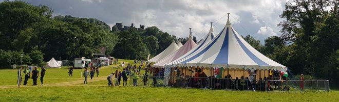festival site - wide view
