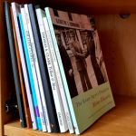 poetry books for days 1 to 10 of the Sealey Challenge