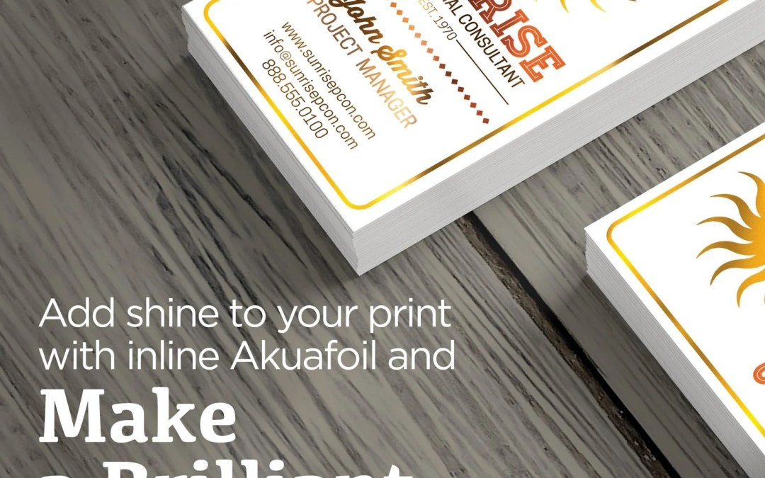 Want to change things up? Try adding some jazz to your business cards.