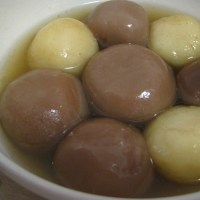 NUTELLA AND PEANUT TANG YUAN RECIPE
