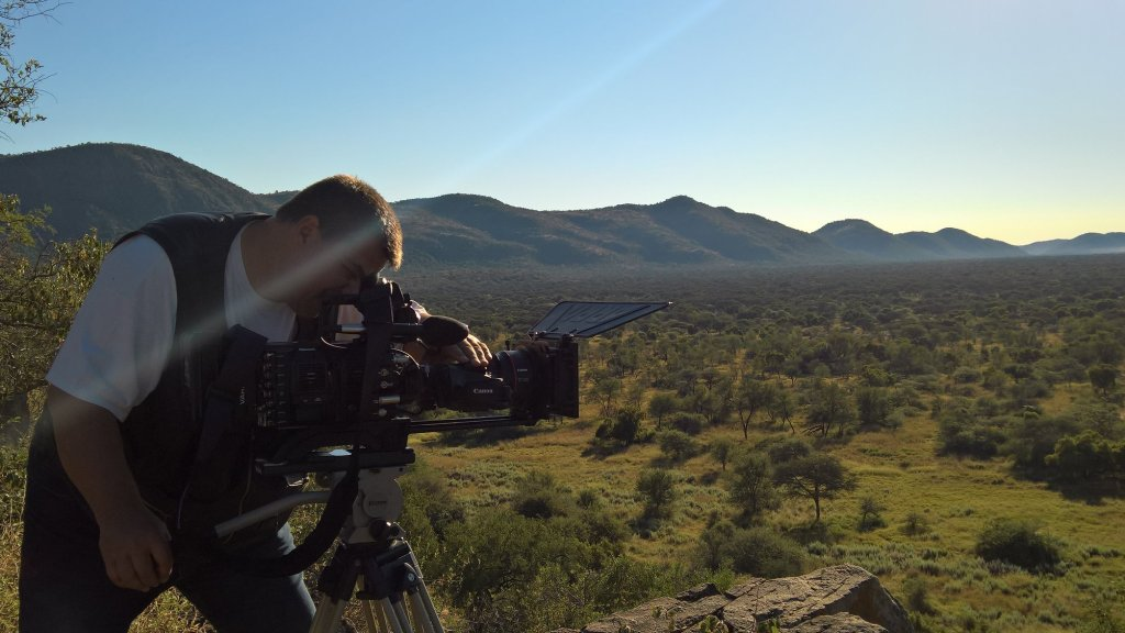 Panasonic Varicam en Safari