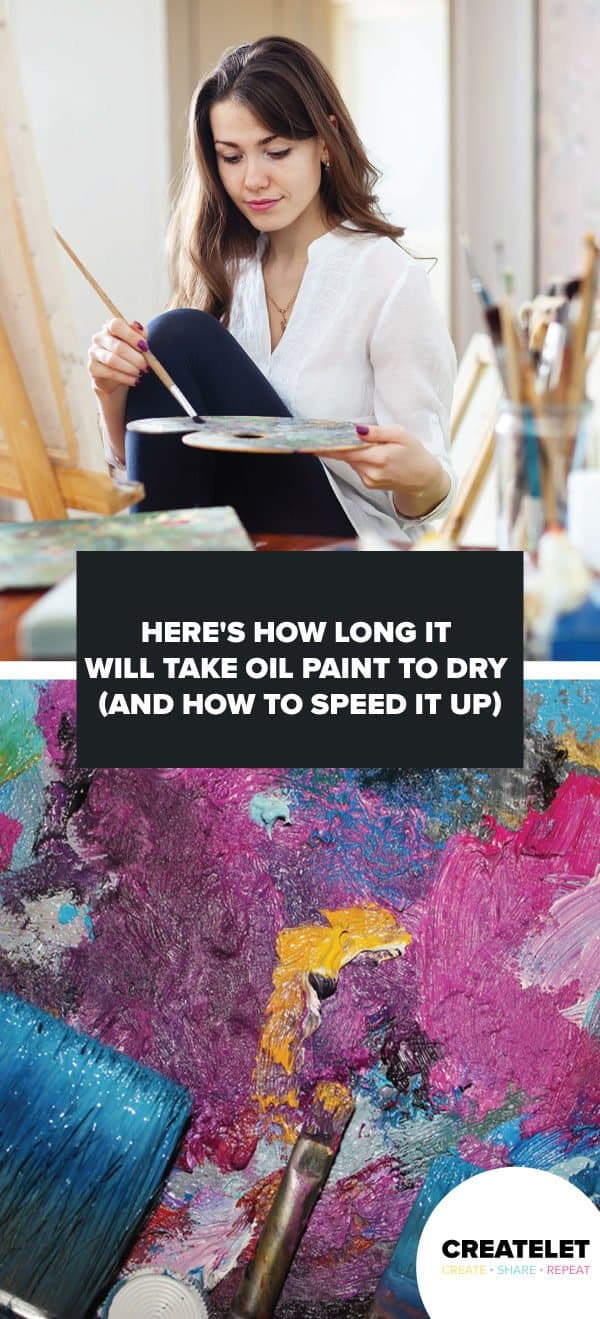 How Long For Oil Paint To Dry : paint, Paint, Takes, Speed
